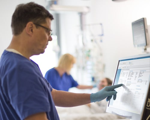 IntelliSpace Critical Care and Anaesthesia ( ICCA) information system