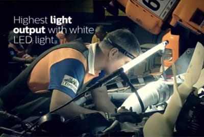 Philips LED Inspection Lights Libya Rally