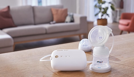 See our new electric breast pump in action