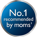 Number one brand recommended by Moms