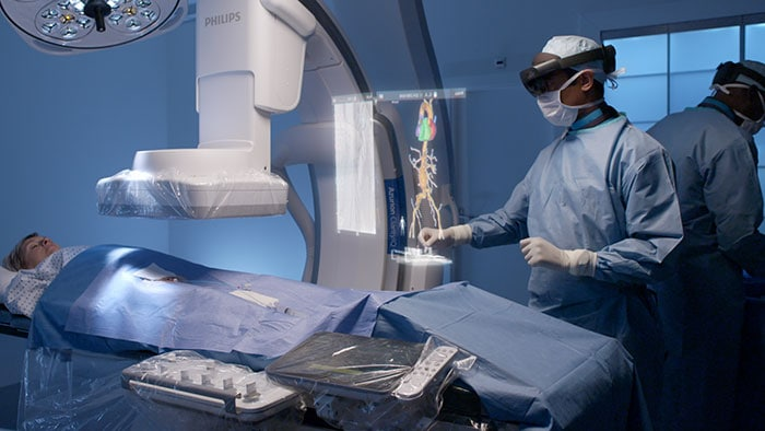 Philips showcases unique augmented reality concept for image-guided minimally invasive therapies developed with Microsoft